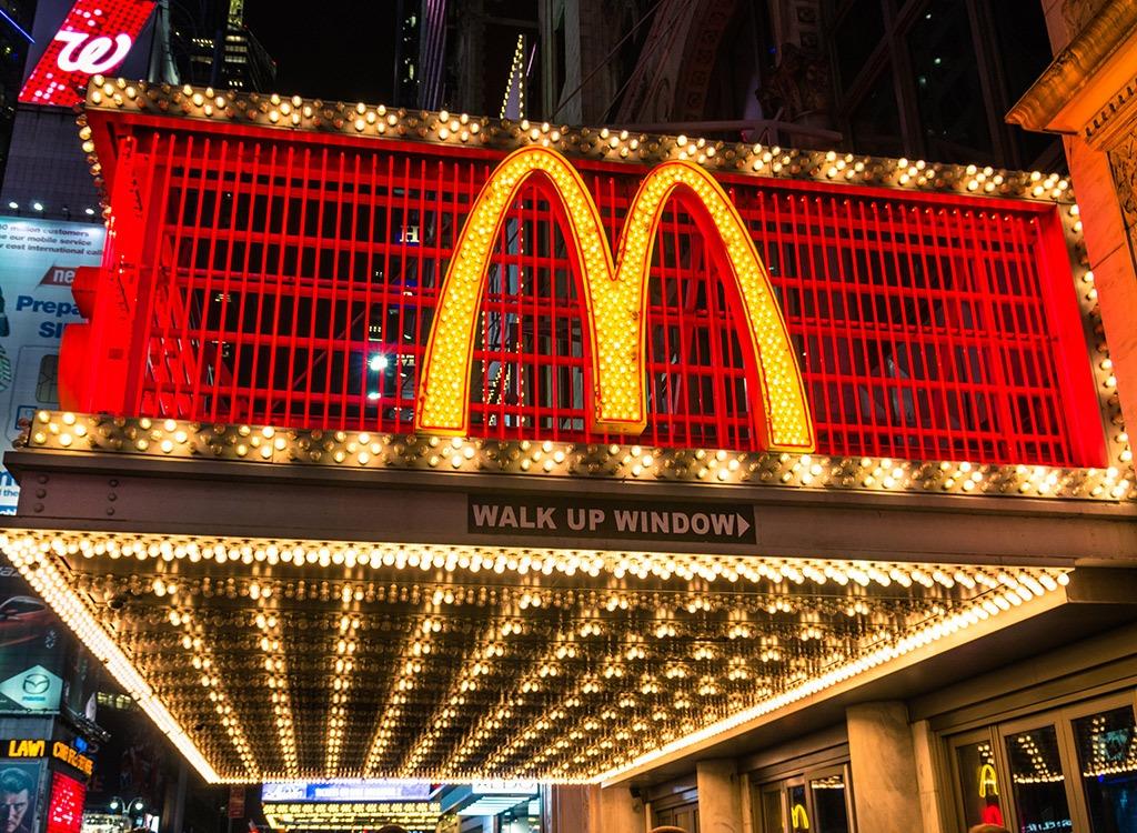 mcdonalds times square