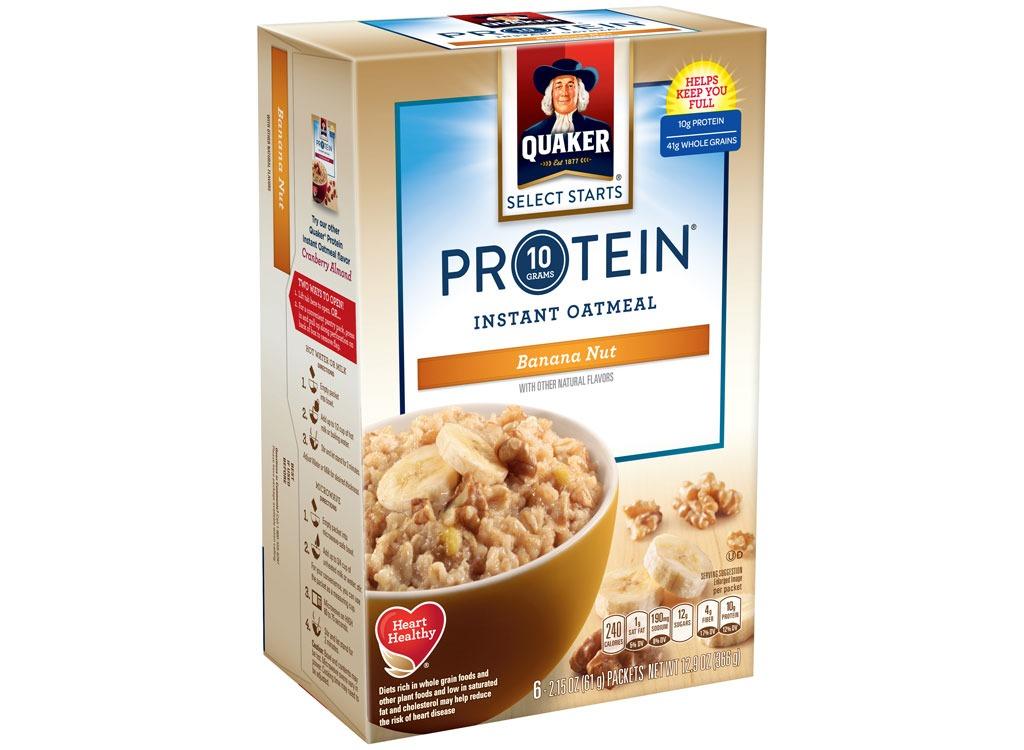 quaker protein banananut