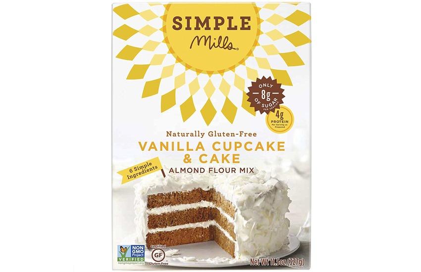 Simple Mills Gluten Free Vanilla Cake Almond Flour Mix