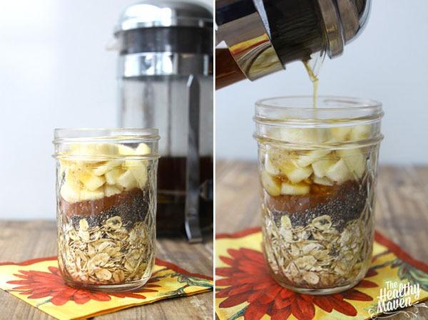 overnight oatmeal mocha