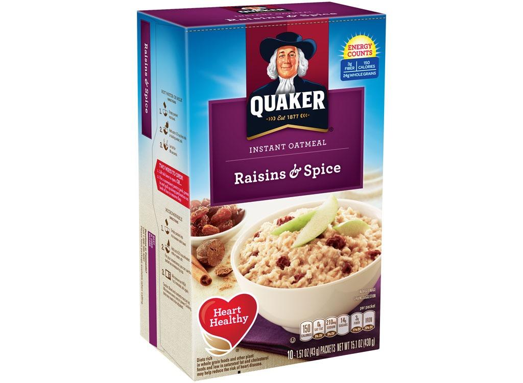 quaker raisinsspice