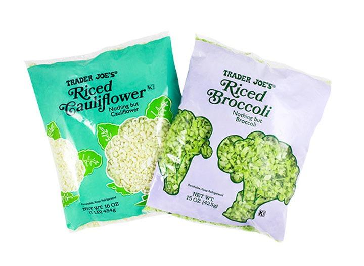 riced cauliflower broccoli trader joes
