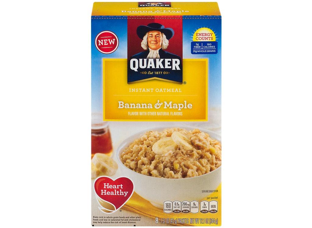 quaker bananamaple