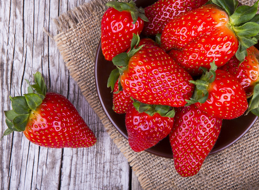 strawberries best fruit for weight loss