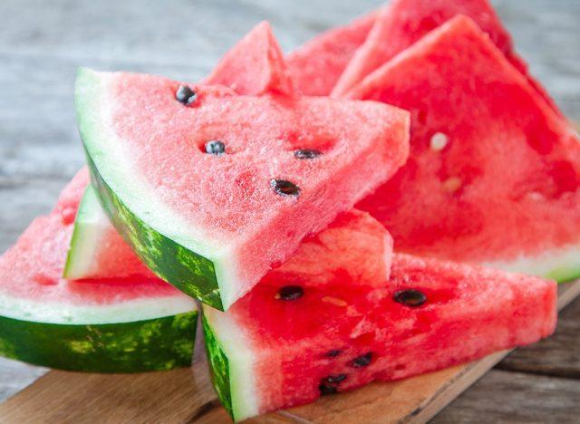 Sugary fruits ranked watermelon