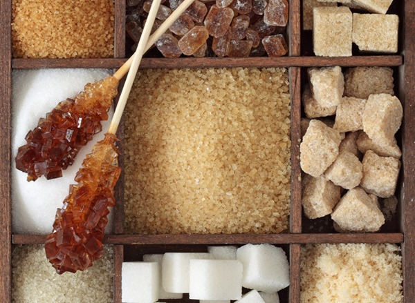 different sugars