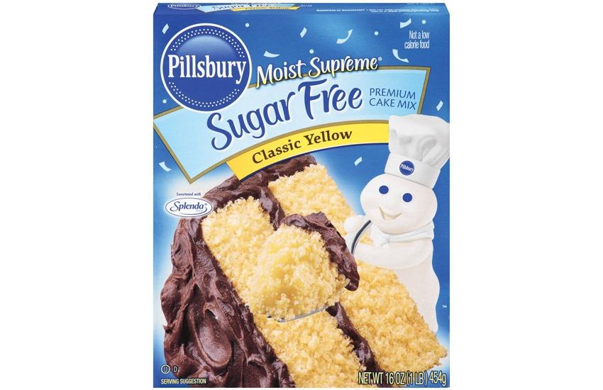 Pillsbury Sugar Free Classic Yellow Cake Mix