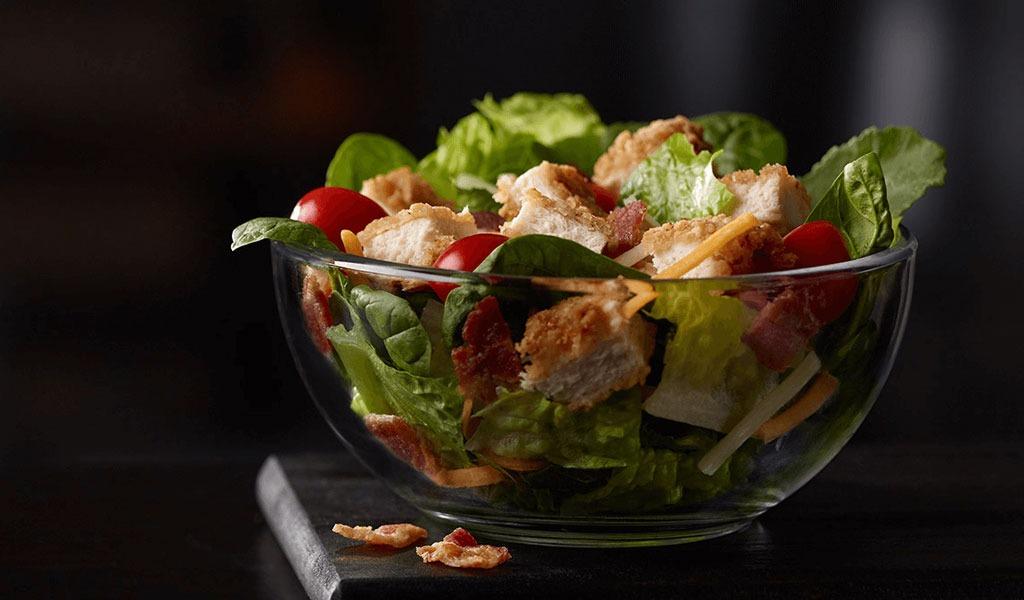 Mcdonalds bacon ranch salad