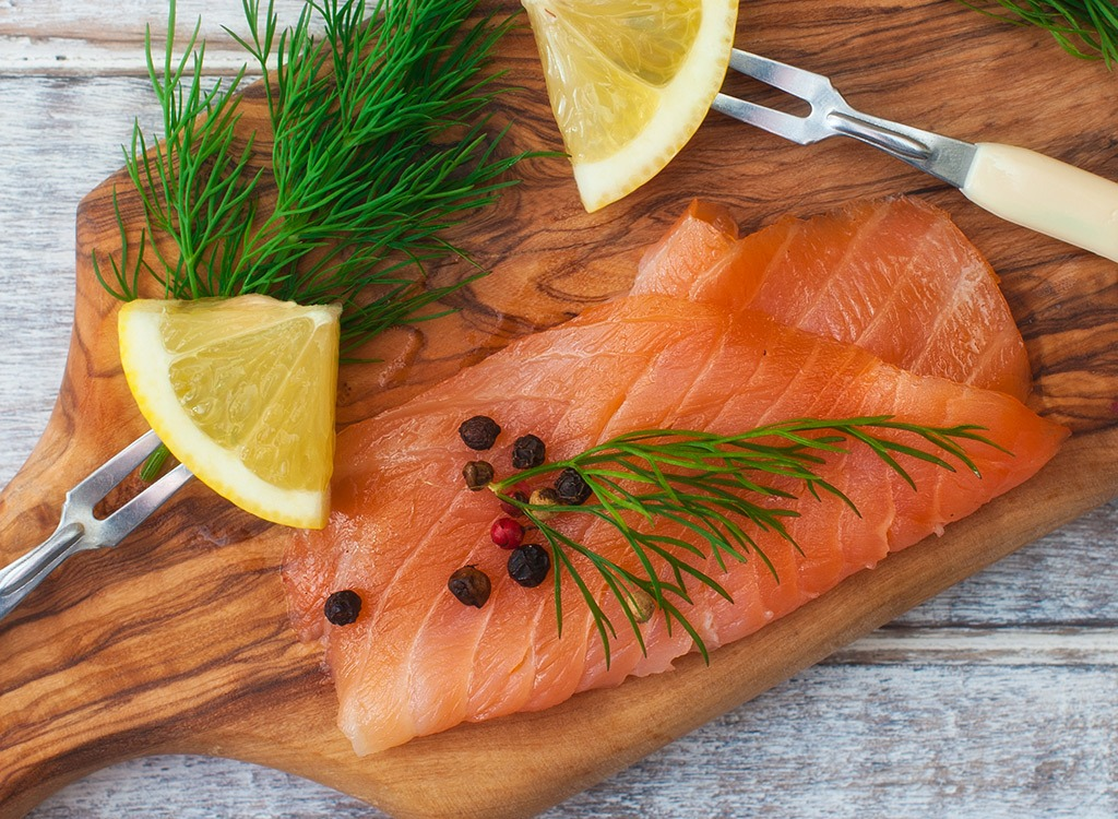 best high protein foods for weight loss - wild salmon