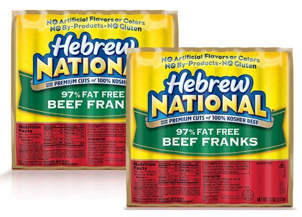 ETNT Super Bowl Hebrew National Beef Franks