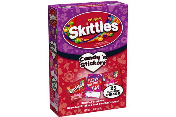 Valentines Candy Ranked skittles