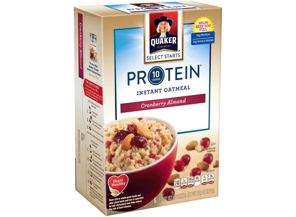 quaker protein cranberryalmond
