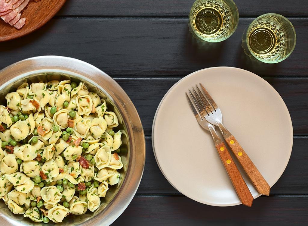 Prepare for nutrition pasta salad