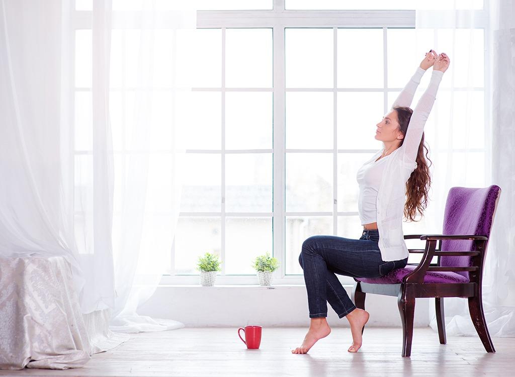 Lose weight sitting tone