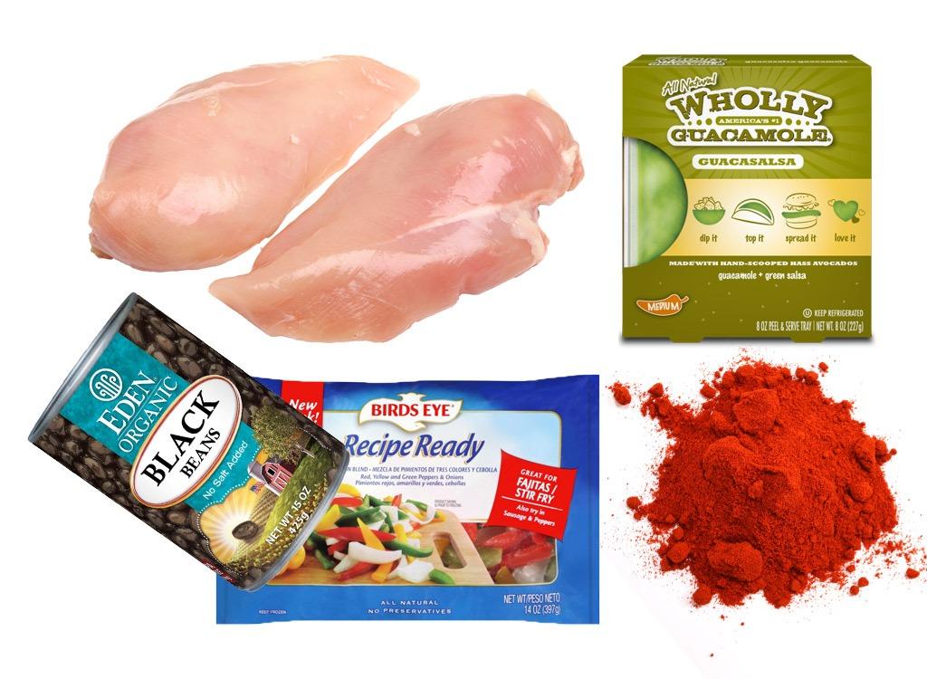 spicy guacamole chicken