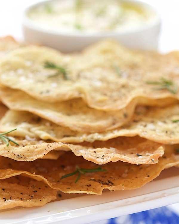 lemon rosemary flatbread crackers