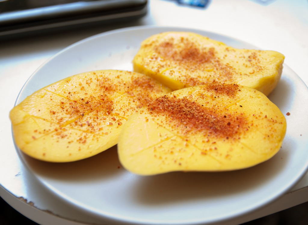 surprising mango spears snack
