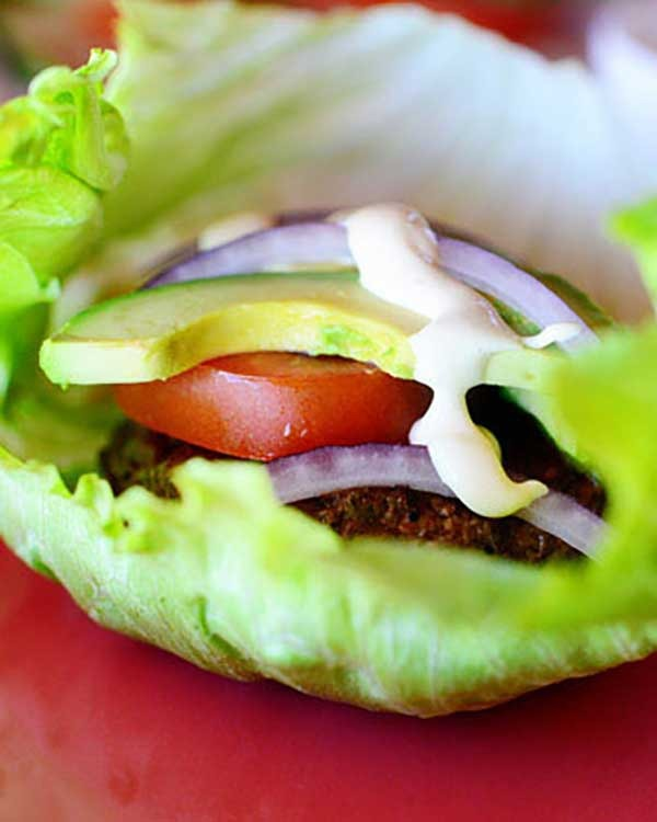 low carb beef burgers