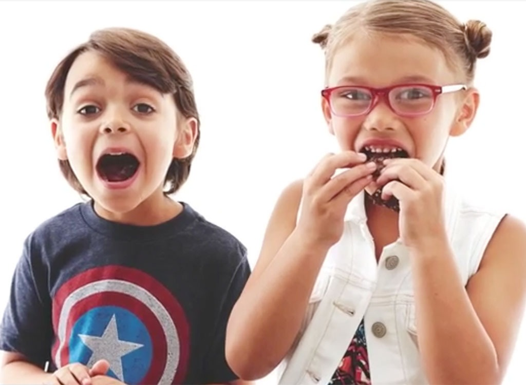 Kids testing snacks - how to lose weight after 30