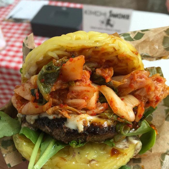 Worst social food trends ramen burger