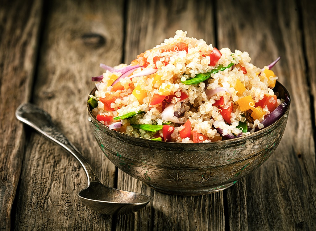 Quinoa salad - how to lose weight after 30