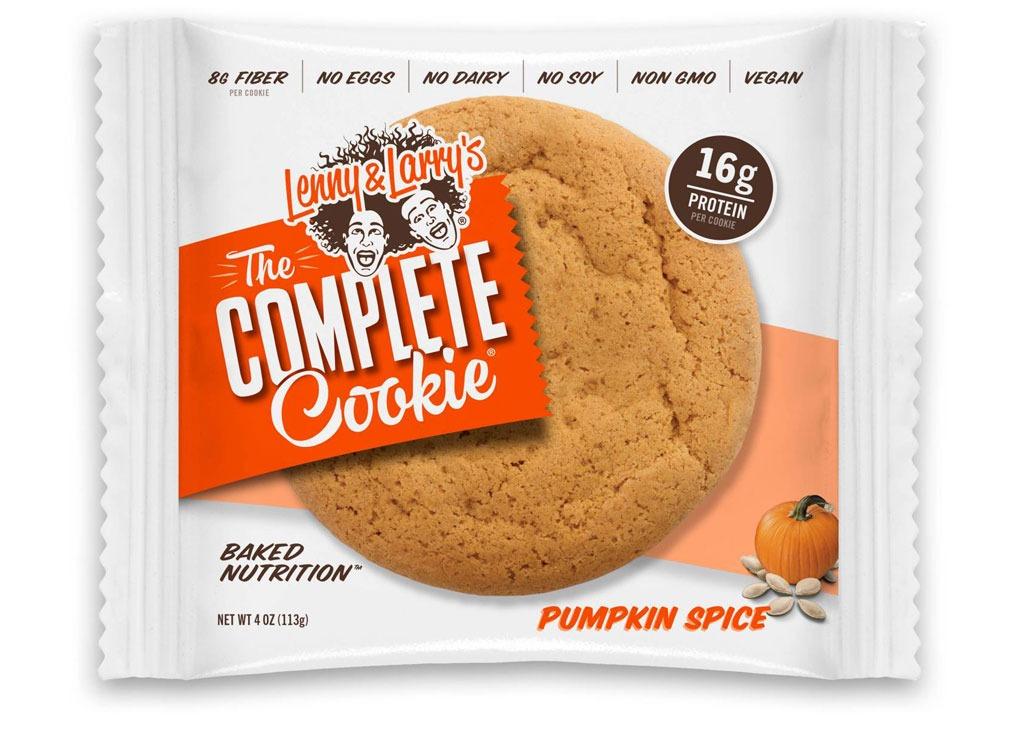 lenny larry complete pumpkin cookie