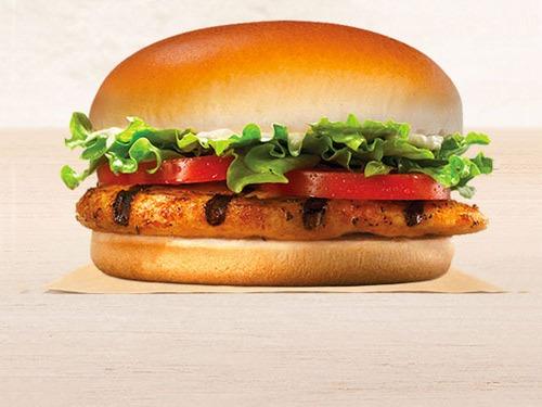 burger king tendergrill sandwich