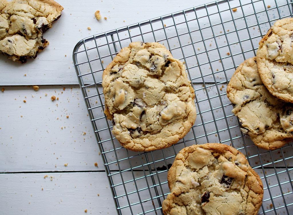 Holiday food chocolate chip cookies