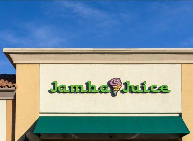 Jamba juice exterior