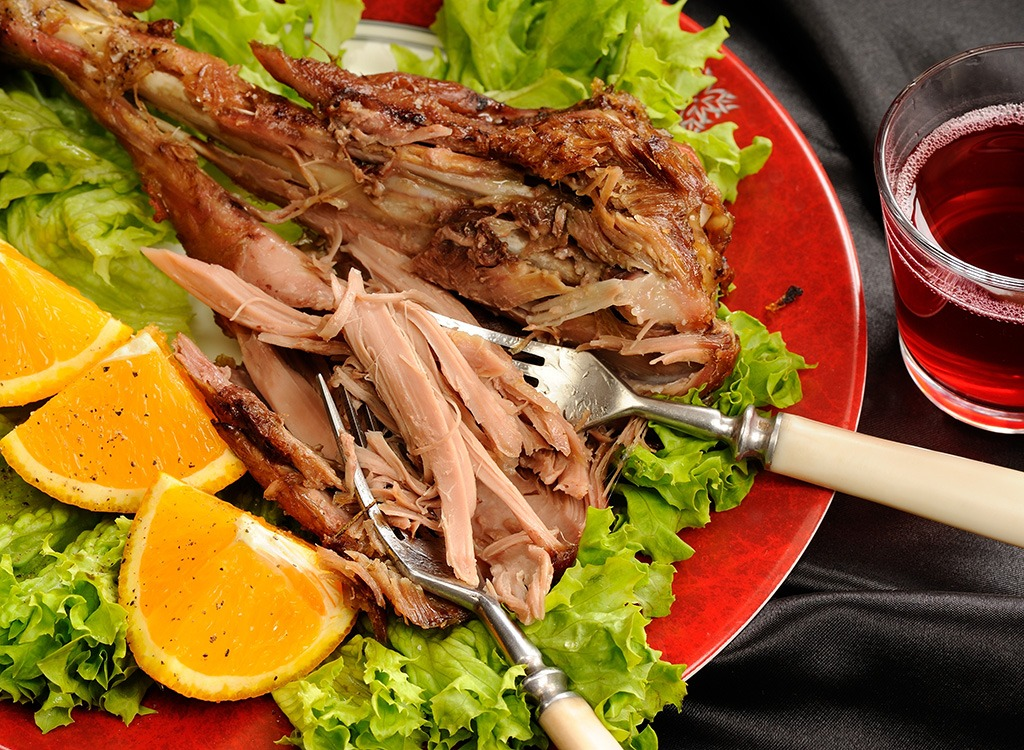 thanksgiving dishes ranked -skinless turkey dark meat