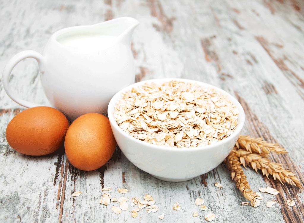 eggs and oats