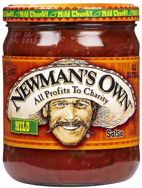ETNT Super Bowl Newmans Salsa