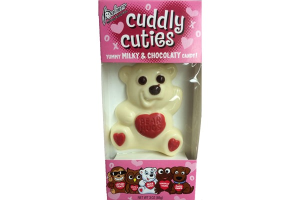 Valentines Candy Ranked Palmer Cuddly Cuties Bear