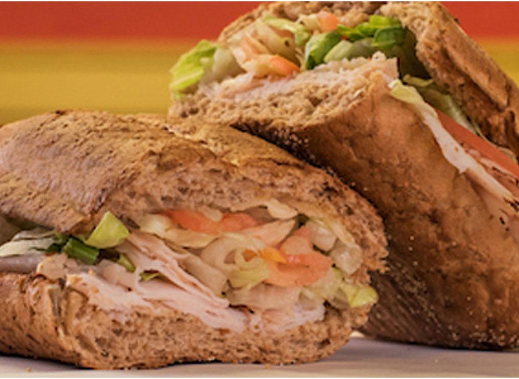 healthiest restaurant dish potbelly skinny tky sandwich