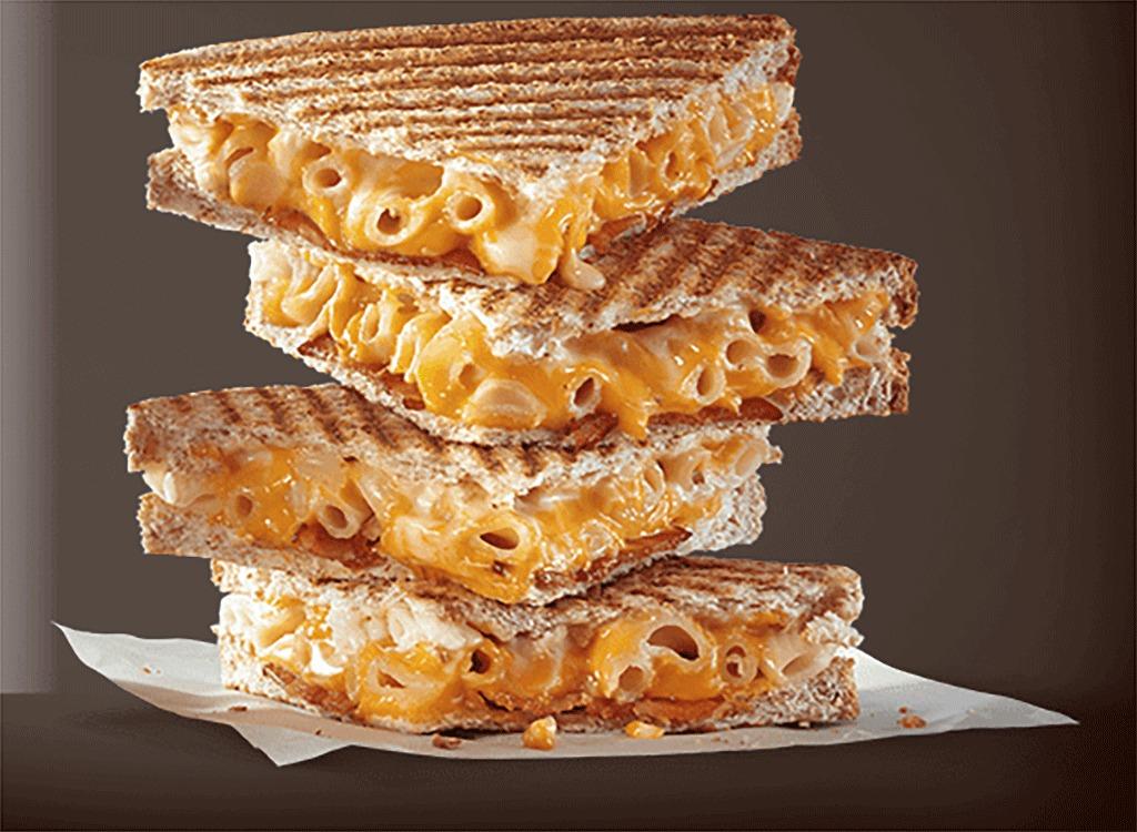 Mcdonalds bacon mac and cheese toastie