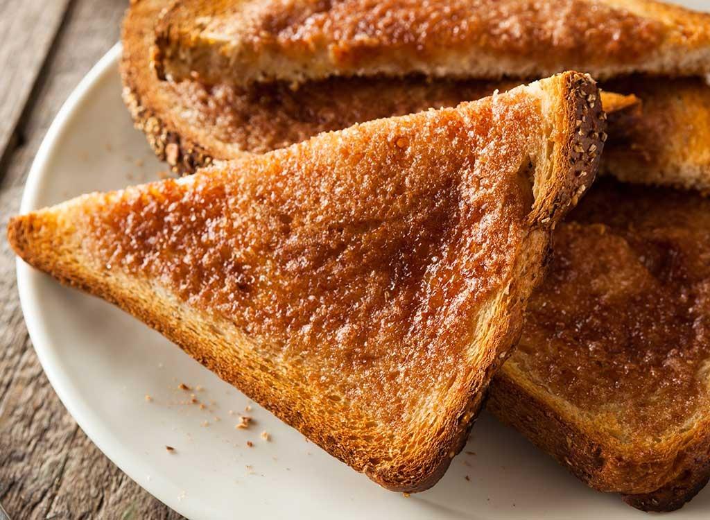 Dark toast