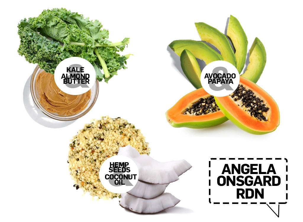 smoothie pairings from angela