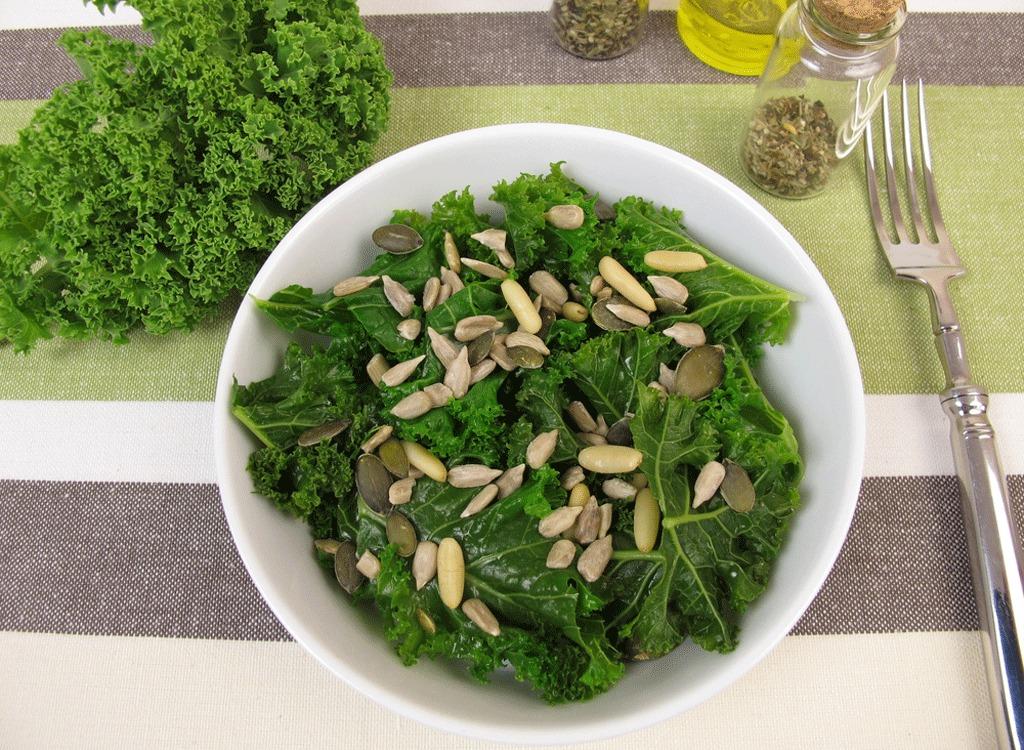 Kale and Pumpkin Seed