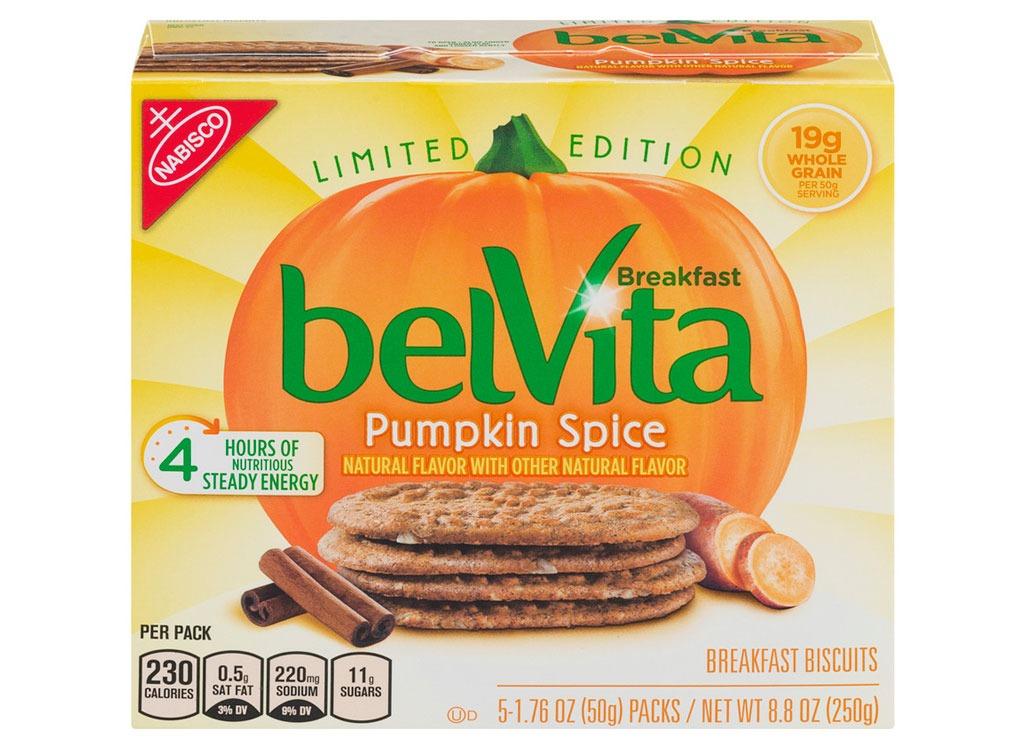pumpkin belvita breakfast biscuits