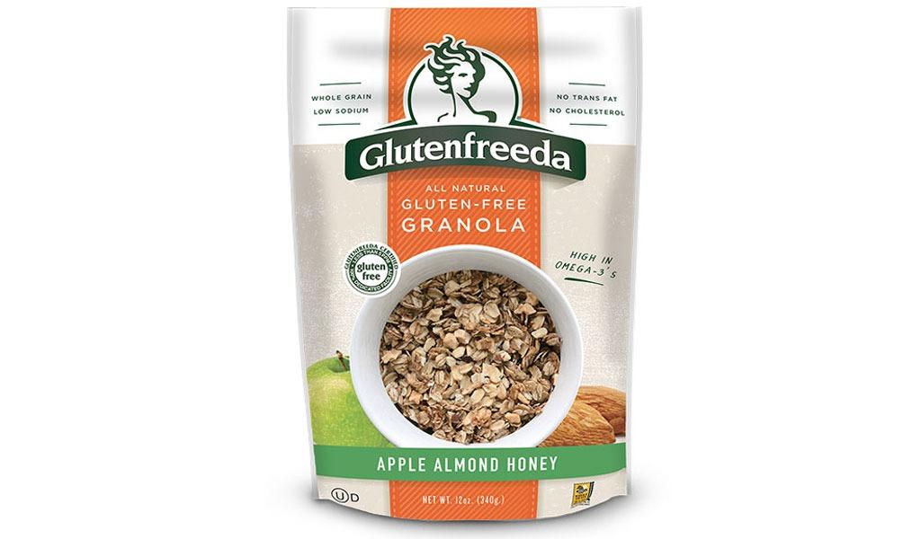 glutenfreeda's apple almond honey granola