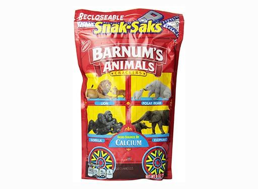Animal Crackers Snak-Saks