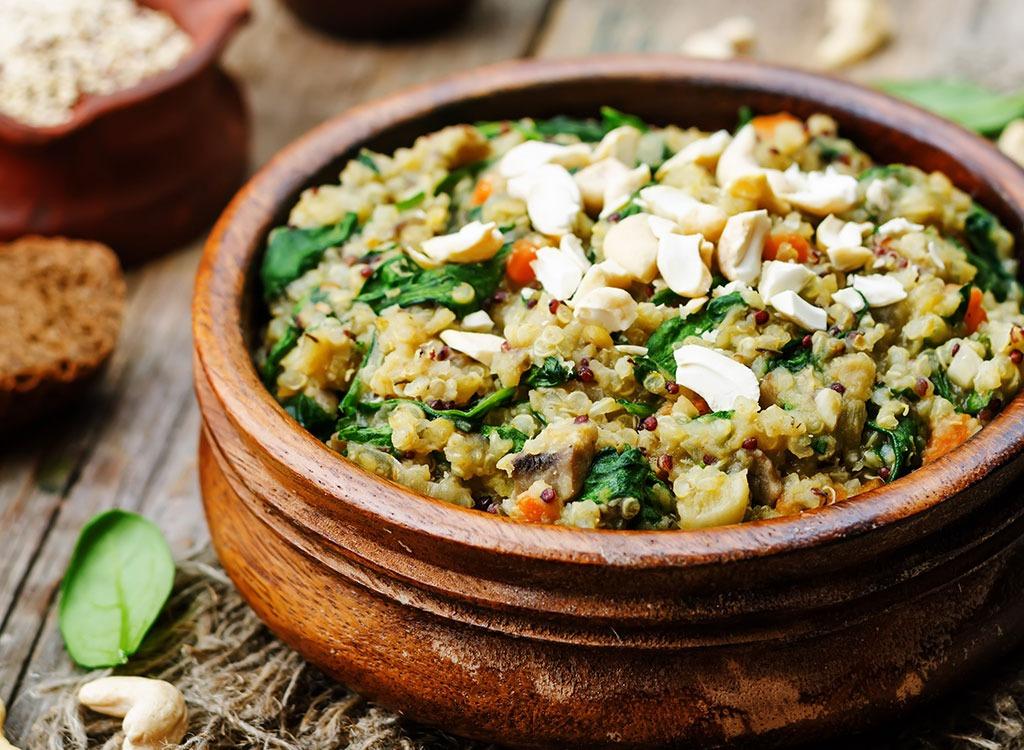 quinoa entrée