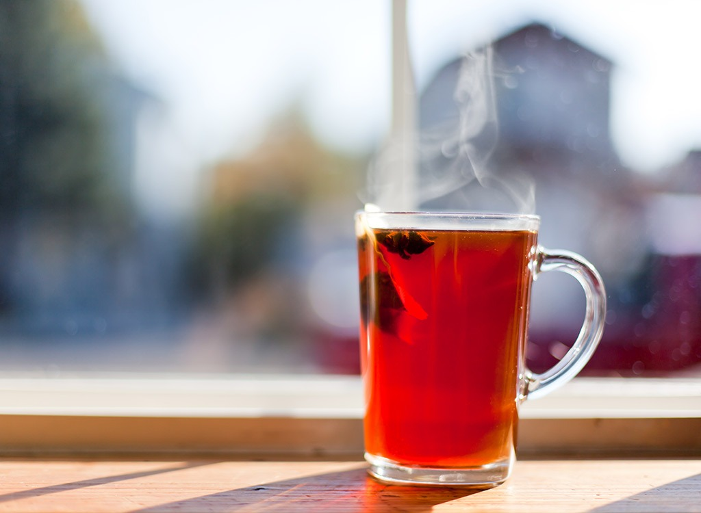 Prepare for nutrition weight loss tea