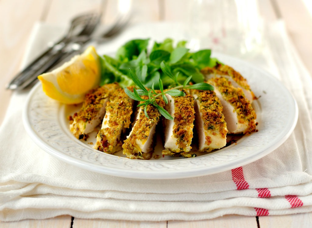 spice crusted chicken