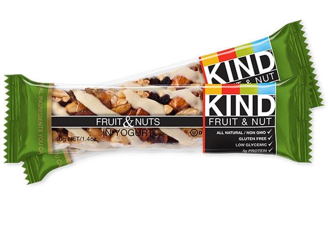 KIND FRUIT and NUTS IN YOGURT