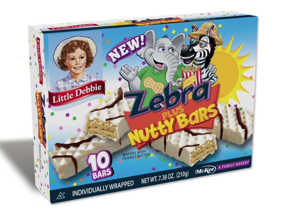 zebra nutty bars