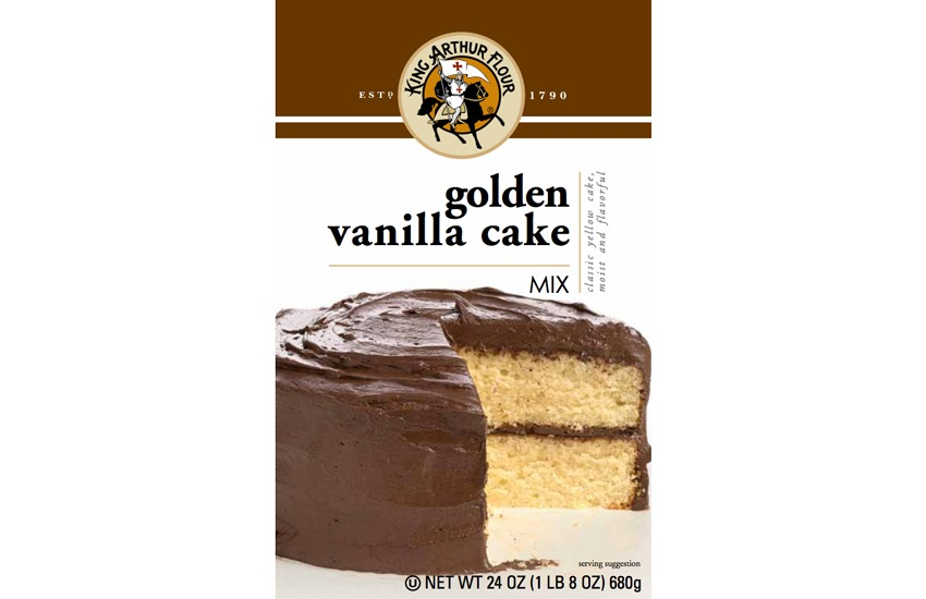 King Arthur Flour Golden Vanilla Cake Mix