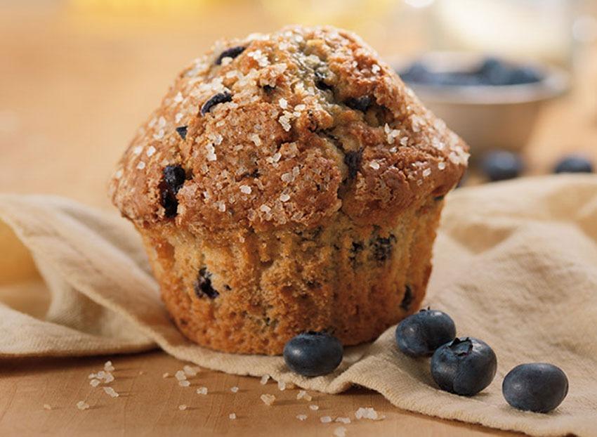 Blueberry muffin napkin
