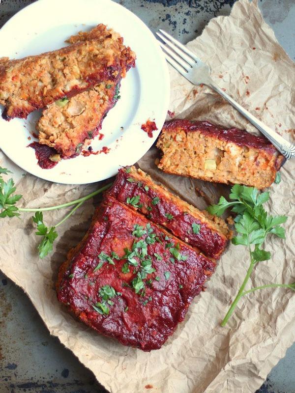 Pulse recipes meatless loaf