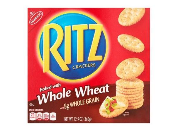 whole wheat  ritz crackers